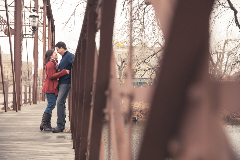"Callie, Mike, Engaged, Engagement, ""St. Anthony Main"", Minneapolis, Couple"