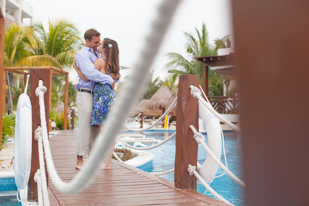 "Husband, Wife, Emma, David, Mexico, ""Playa Mujeres"", Excellence, ""Excellence Playa Mujeres"", Honeymoon, ""Just Married"", Newlyweds, Lovers, Beach, ""Palm Trees"", ""White Sand"", Pool, Water"