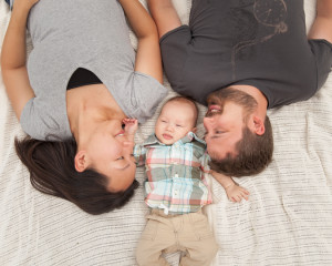 Lodin Family | Wyatt Three Months